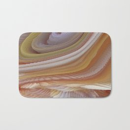 Abstract painting 123 Bath Mat