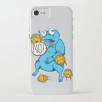 cookies iPhone & iPod Cases featuring Cookies by MOONGUTS (Kyle Coughlin)