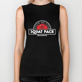 Show Me Your Squat Face Biker Tank
