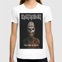 iron maiden T-shirts featuring Iron Maiden-Book Of Souls by darma1982