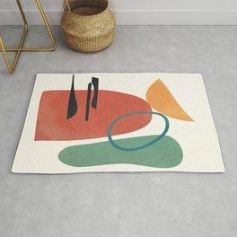 Minimal Abstract Shapes No.41 Rug