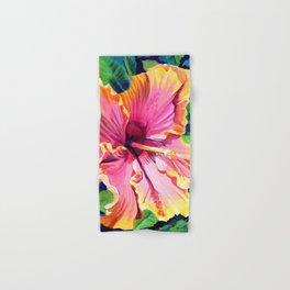 Tropical Bliss Hibiscus Hand & Bath Towel