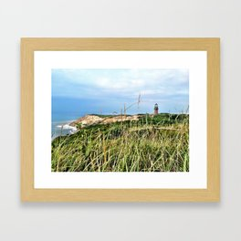 Windy and Blue Framed Art Print