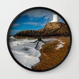 Ty Mawr Lighthouse Llanddwyn Island Wall Clock
