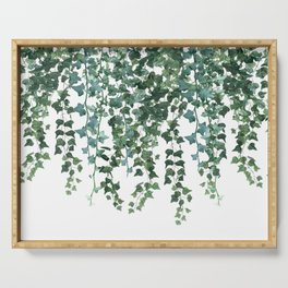 Ivy Vine Drop Serving Tray