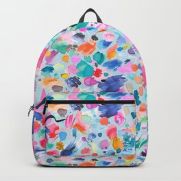Summer Painterly Watercolor Strokes Backpack