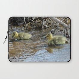 Goslings Swimming Laptop Sleeve