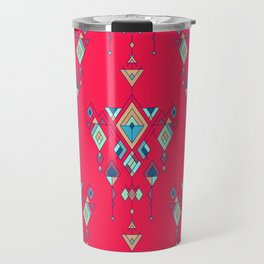 Vintage ethnic tribal aztec ornament Travel Mug