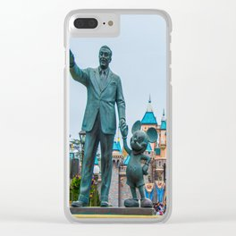 Walt & Mickey Clear iPhone Case