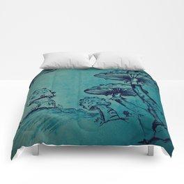 Mushroom Garden Comforters