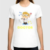 doctor T-shirts featuring Doctor by Alapapaju