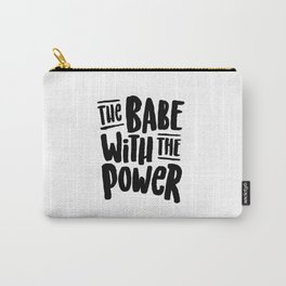 Labyrinth // The babe with the power Carry-All Pouch