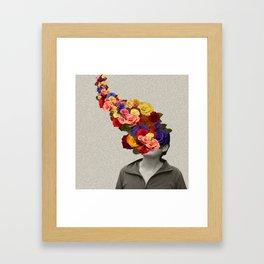 Flowerhead Framed Art Print