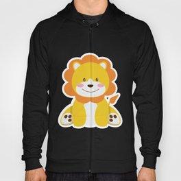 Lion in the savannah Hoody