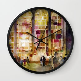 Lincoln Center, New York Wall Clock
