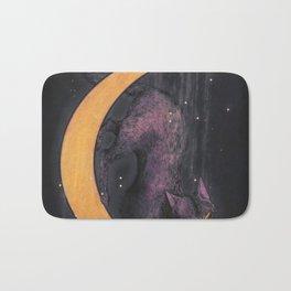 Mooncat Bath Mat