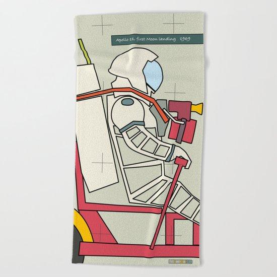 Astronaut 1969 Beach Towel