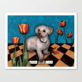Tillie Canvas Print