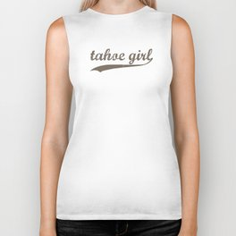Tahoe Girl Co-ed Chocolate Biker Tank