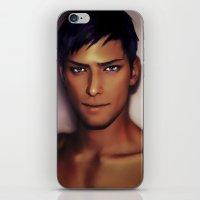 kuroko iPhone & iPod Skins featuring Mr.Daiki by Jackce
