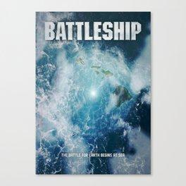 'Battleship' film poster Canvas Print