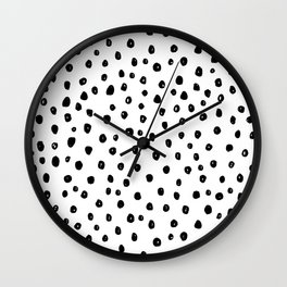 Dotty Girl Wall Clock