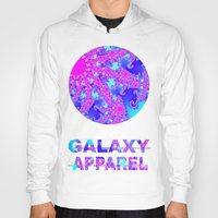 fractal Hoodies featuring FRACTAL by GALAXY APPAREL