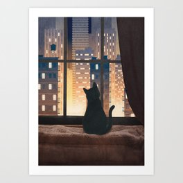 City View Art Print