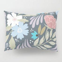 Scandinavian Florals Pillow Sham