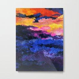 tennessee smoky mountains abstract Metal Print