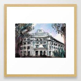 The Capitol Building, Singapore Framed Art Print