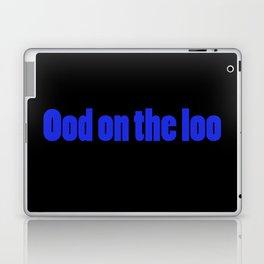 Ood On The Loo Laptop & iPad Skin