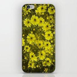 Blackhole Daisies  iPhone Skin