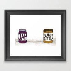 Seperated Framed Art Print