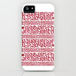 Playground Love iPhone Case