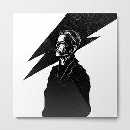 Bowie - Blackstar poster Metal Print