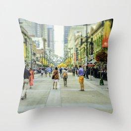 Stephen Avenue  Throw Pillow