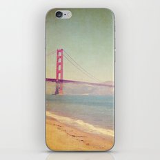 A Golden Day at the Beach iPhone & iPod Skin