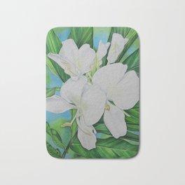 Hawaiian White Ginger Bath Mat