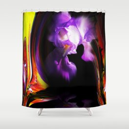 Abstract pefection -Lily Shower Curtain