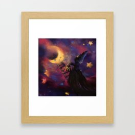 Stairs to the Moon Framed Art Print