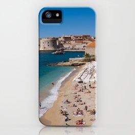 Banje Beach iPhone Case