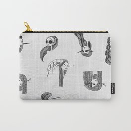 Head Shots Carry-All Pouch
