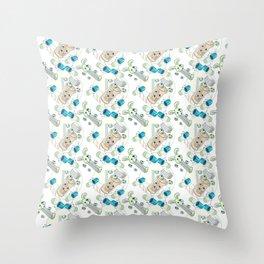 Noiz Tile Throw Pillow