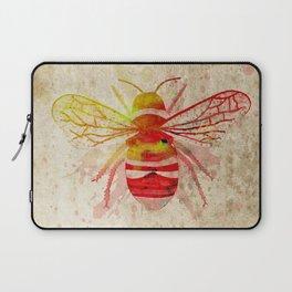 Watercolor Bumblebee Laptop Sleeve