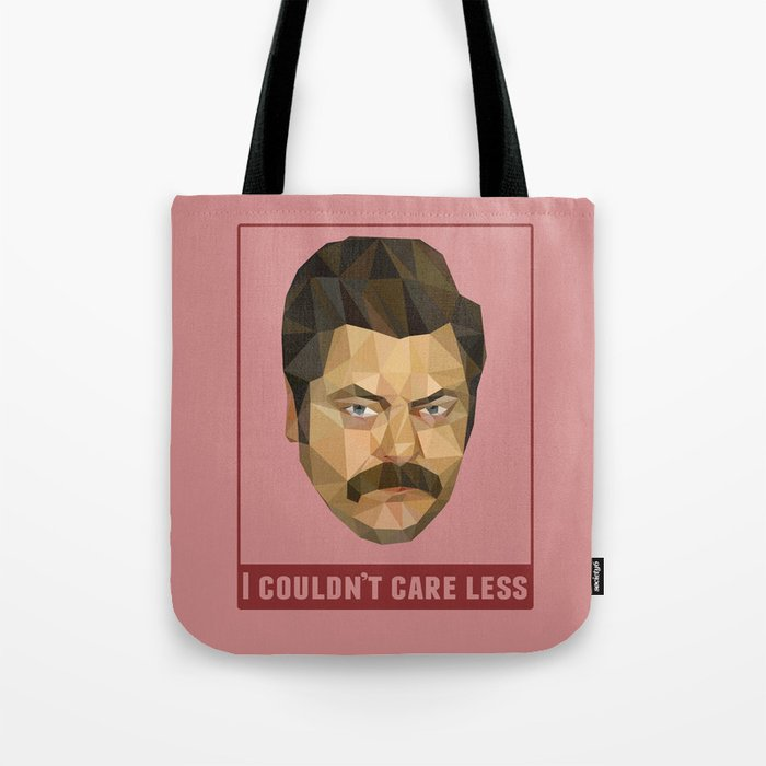 I Couldn't Care Less Tote Bag