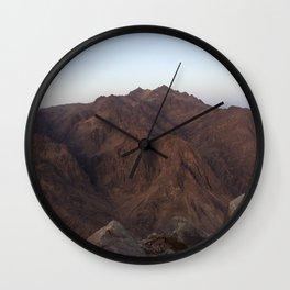 Moses mountain. Wall Clock