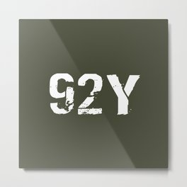 92Y Unit Supply Specialist Metal Print