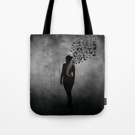 The Butterfly Transformation Tote Bag