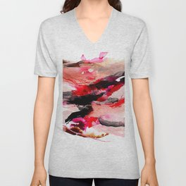 Day 63: Don't let aesthetics distract from true and invisible beauty. Unisex V-Neck